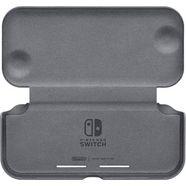 nintendo switch draagtas switch lite-switch lite-flipcover en -beschermfolie grijs