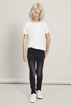 name it stretch jeans »nitclas xsl-xsl dnm pant« zwart