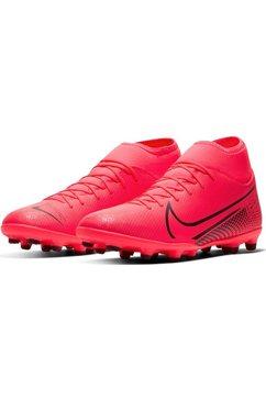 nike voetbalschoenen »mercurial superfly 7 club mg« rood