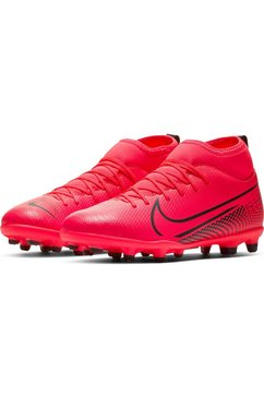 nike voetbalschoenen »mercurial jr superfly 7 club mg« rood