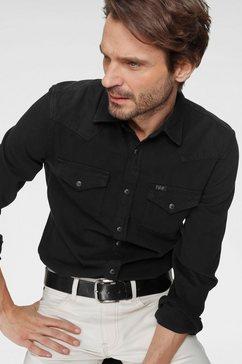 lee jeansoverhemd »western shirt« zwart