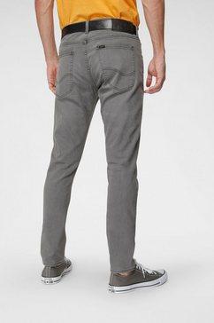 lee slim fit jeans grijs