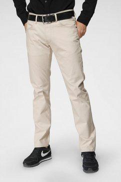 lee five-pocketsbroek »daren zip fly« beige