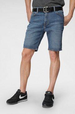lee jeansshort blauw