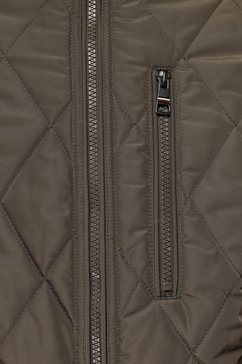 tommy hilfiger bomberjack »diamond quilted bomber« groen