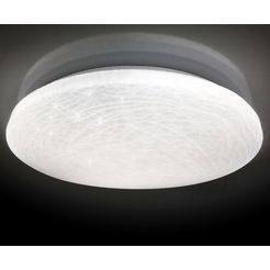 naeve led-plafondlamp »polaris«, wit