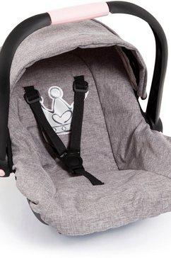bayer poppen autostoel grijs