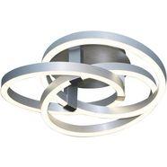naeve led-plafondlamp »divora«, zilver