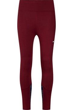 tommy sport highwaist legging »highwaisted tape legging« rood
