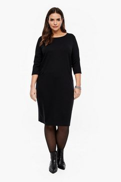 triangle jurk zwart