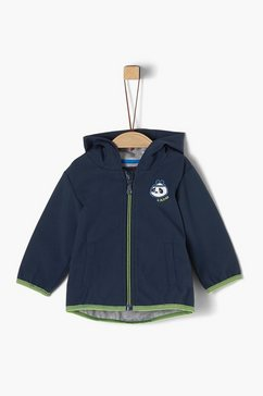 s.oliver softshell-jas_voor baby's blauw