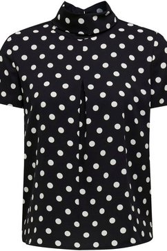 esprit collection gedessineerde blouse zwart