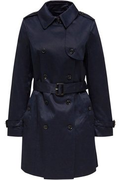 esprit collection trenchcoat blauw