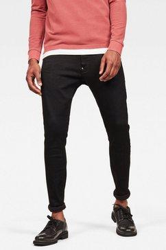 g-star slim fit-jeans »revend super slim« zwart