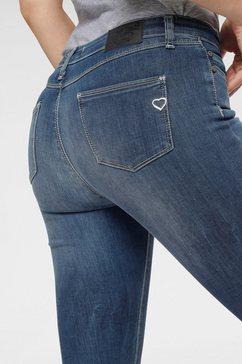 please jeans slim fit jeans »p78l« blauw