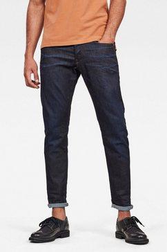 g-star raw regular fit jeans »3301 straight tapered« blauw
