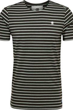 g-star raw t-shirt »xartto« groen