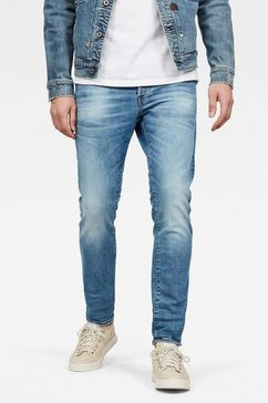 g-star raw slim fit jeans »3301 slim« blauw