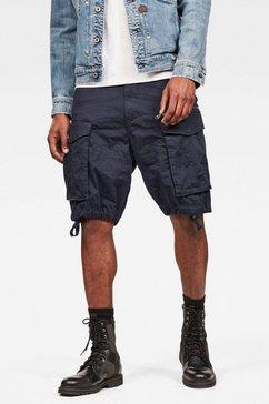 g-star cargoshort »rovic zip loose 1-2 sage« blauw