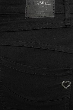 please jeans jeansrok »g713« zwart