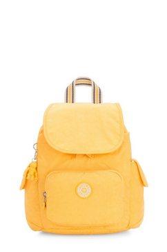 kipling rugzak »city pack mini« geel