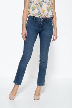 att jeans 5-pocketsjeans »zoe jog« blauw