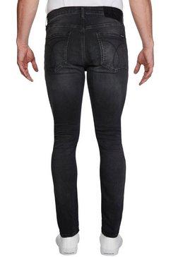 calvin klein skinny fit jeans »infinite flex« zwart
