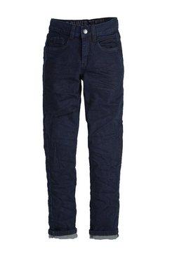 s.oliver junior skinny seattle: donkere stretchjeans voor jongens blauw