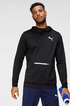 puma trainingstrui rtg hoodie zwart