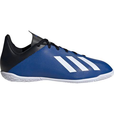 Adidas Zaalvoetbalschoenen voor kinderen X4 blauw-zwart