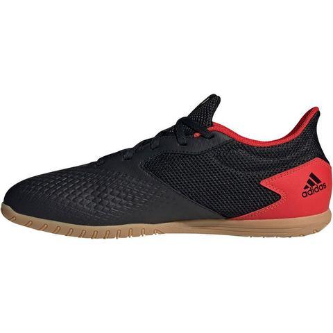 adidas Predator 20.4 in sala voetbalschoenen zwart-rood Dames