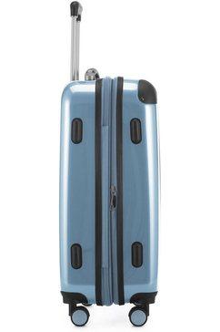 hauptstadtkoffer hardshell-trolley blauw