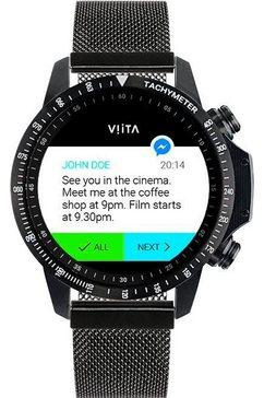 viita »active hrv tachymeter« smartwatch zwart