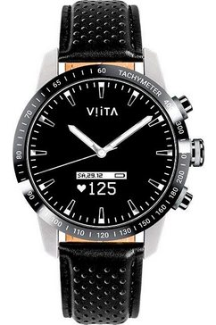 viita »hybrid hrv tachymeter« smartwatch zwart