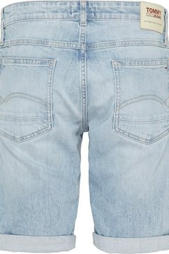 tommy jeans jeansshort »ronnie short« blauw