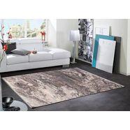 oci die teppichmarke vloerkleed »you«, oci die teppichmarke, rechthoekig, hoogte 8 mm, machinaal geweven grijs