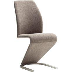 """mca furniture vrijdragende stoel """"virginia"""" bruin"""