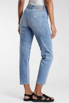 gang mom jeans »gloria« blauw