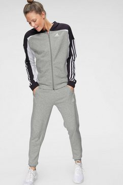 adidas performance trainingspak »osr hooded ts« grijs
