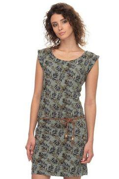 ragwear shirtjurk »tag leaves« groen