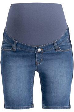 esprit maternity jeans shorts blauw