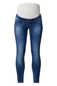 queen mum slim jeans blauw