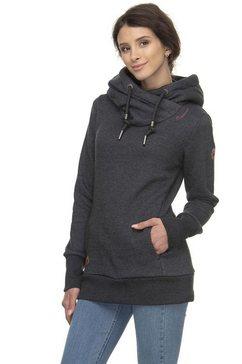 ragwear sweatshirt »gripy bold« zwart