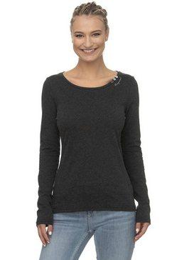 ragwear shirt met lange mouwen »florah long« zwart