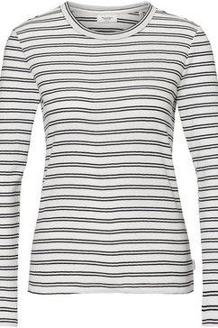 marc o'polo denim shirt met lange mouwen wit