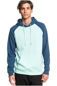 quiksilver hoodie »everyday« groen
