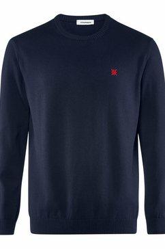 burlington gebreide trui »pullover« blauw