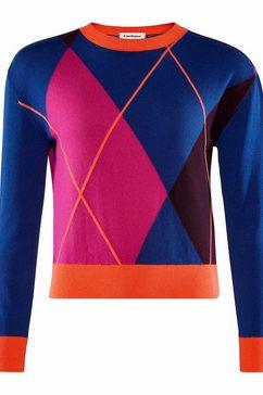 burlington gebreide trui »pullover« paars