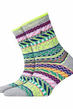 burlington sokken grijs