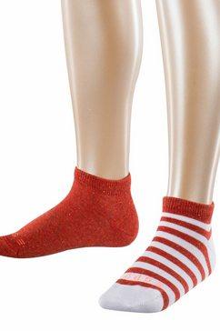 esprit sneakersokken rood